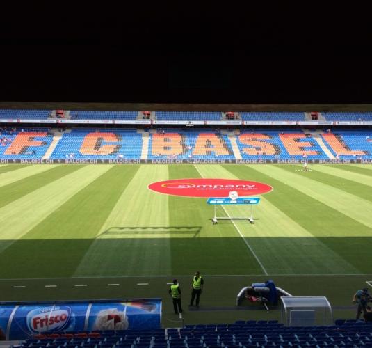 Stadion St. Jakob Park Basel Sanierung