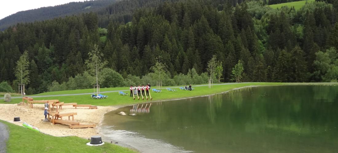 Badesee Lac Claus Surrein Sedrun
