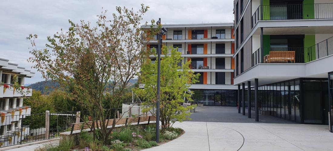 Wohnüberbauung ´Wohnen Plus´ Richterswil